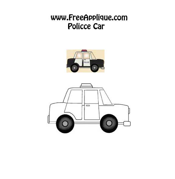Police Car Pattern