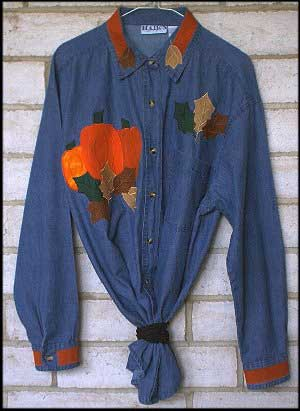 Free Quilt Patterns - Autumn Harvest Shirt