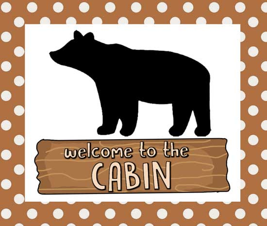 Cabin Applique Pattern