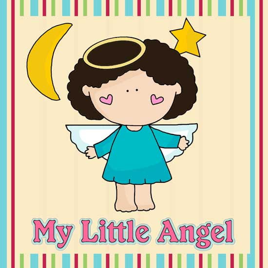 My Little Angel Applique Pattern